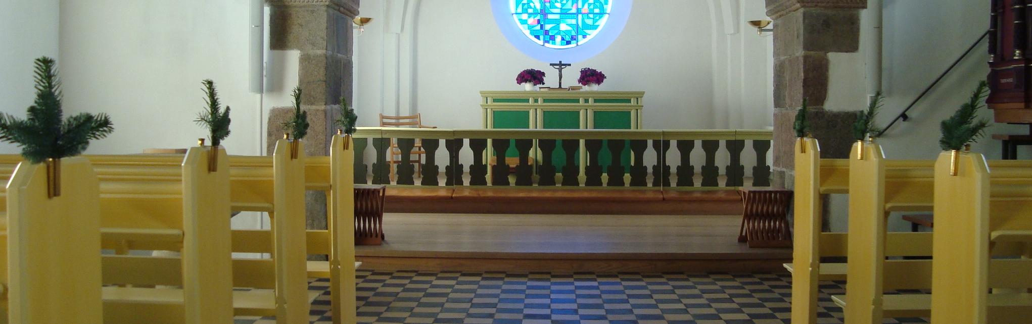 Kolind kirkes alter