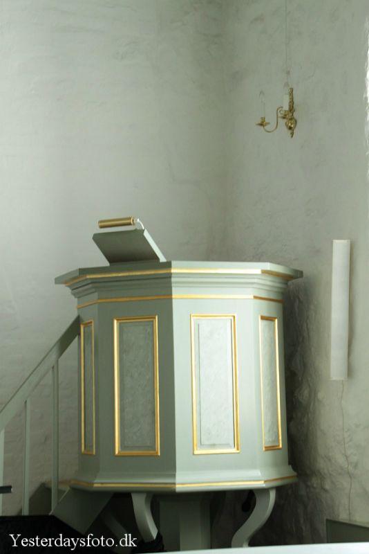 Gundersted kirkes prædikestol